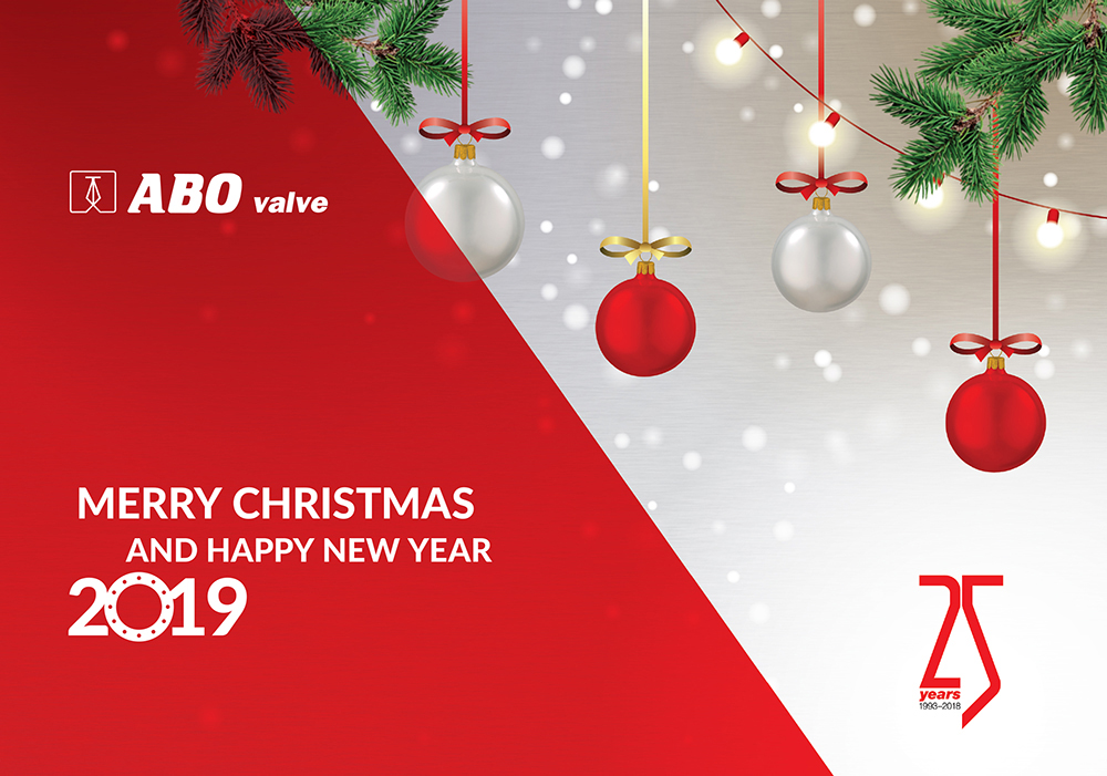 Merry Christmas 2019.Merry Christmas And Happy New Year 2019 Abo Valve
